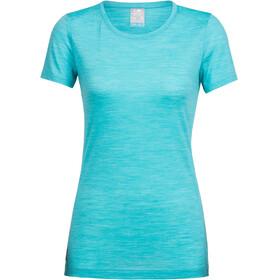 Icebreaker Sphere t-shirt Dames turquoise